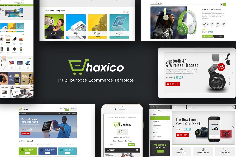 Haxico - Technology Responsive Magento Theme