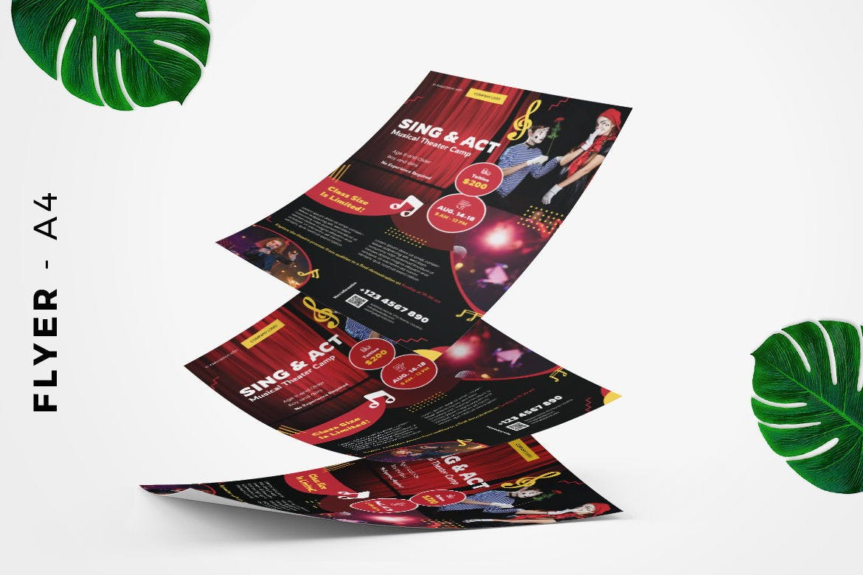 Sing Act Flyer Design