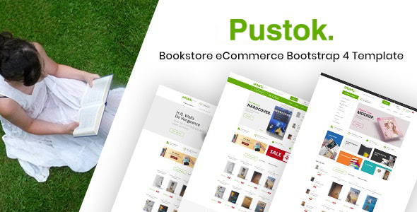 Book Store HTML Template - Pustok