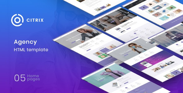 Citrix - Agency Multipurpose HTML5 Template