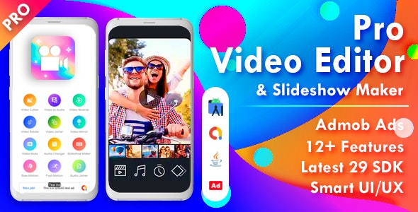 Pro Video Editor & Photo Video Maker for Android (v.1.2)