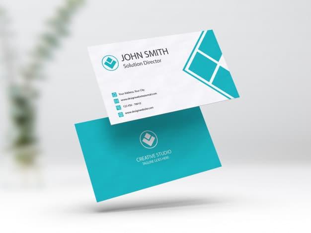 Business cBusiness card mockup Premium Psdard mockup Premium Psd
