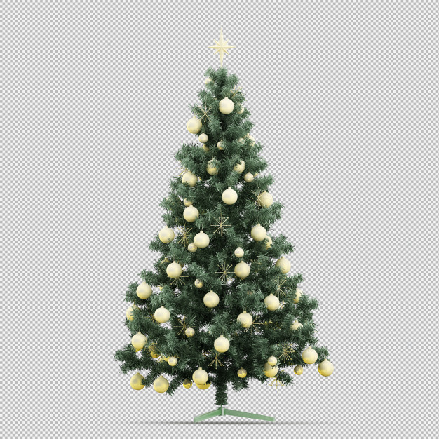 Christmas tree Premium Psd