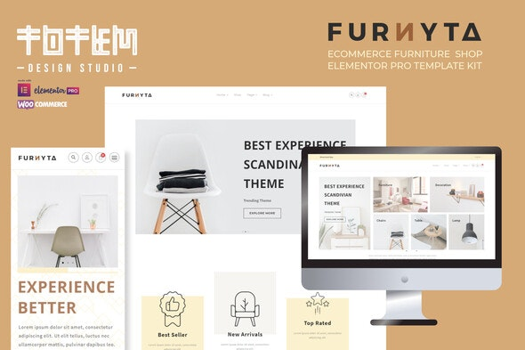 Furnicom v2.0.1 NULLED - online store template for fittings and furniture