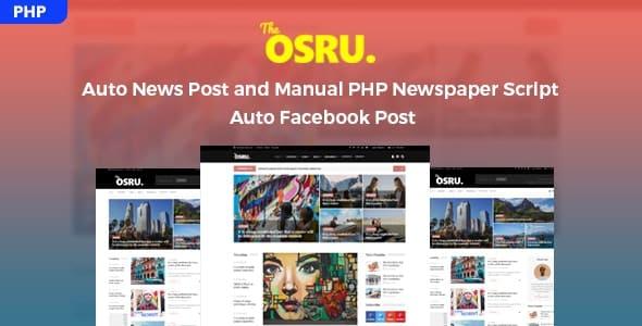 Osru - Auto News Post and Manual PHP Newspaper Script = Auto Facebook Post