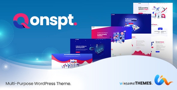 Qonspt v1.2.3 - Multipurpose WordPress Theme