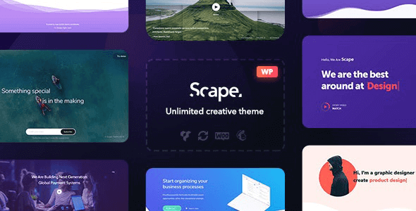 Scape v1.4.11 NULLED - Multipurpose WordPress Theme