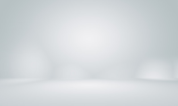 Smooth empty grey studio well use as background. Premium Photo