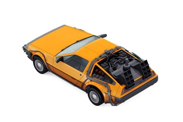 Sport retro car mockup Premium Psd