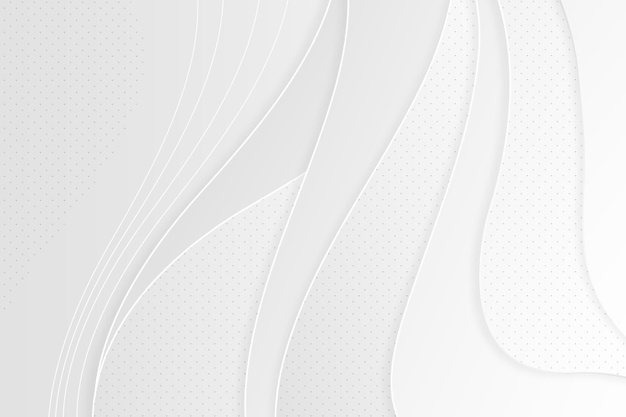 White abstract background concept Free Vector