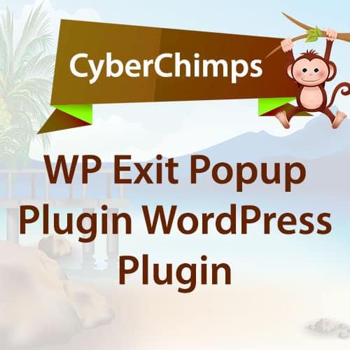 CyberChimps Exit Popup