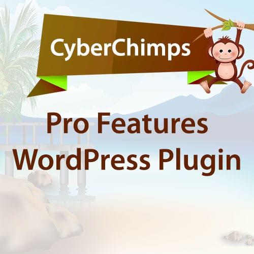 CyberChimps Pro Features WordPress Plugin 1.7