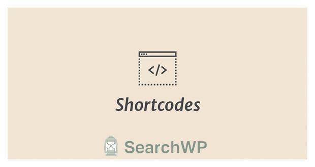 SearchWP Shortcodes