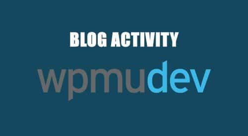 WPMU DEV Blog Activity 1.1.6