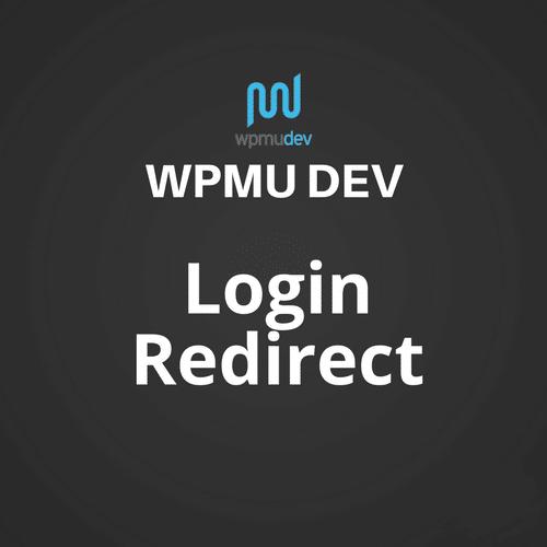WPMU DEV Login Redirect 1.0.9