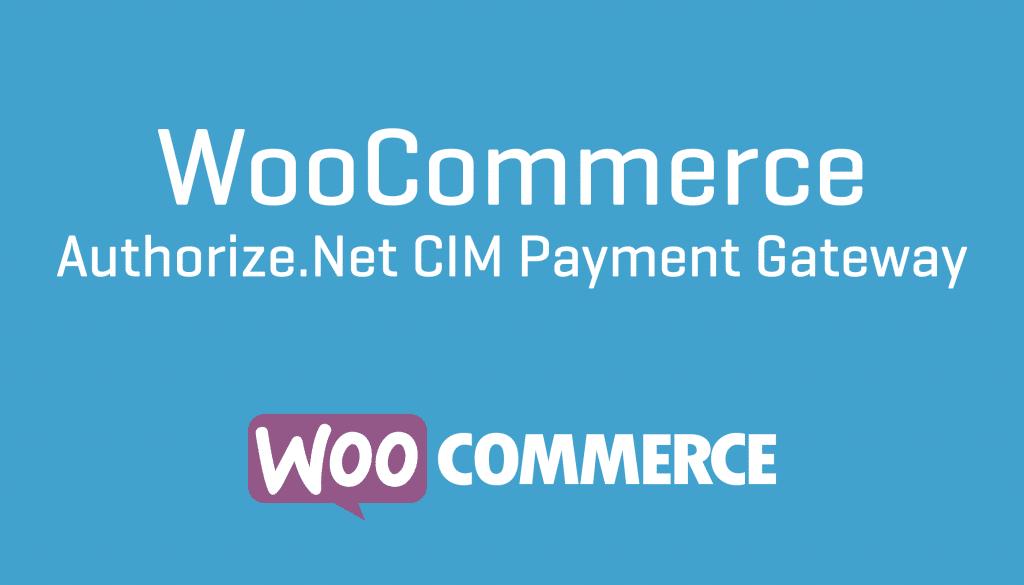 WooCommerce Authorize.net CIM Gateway 3.6.0