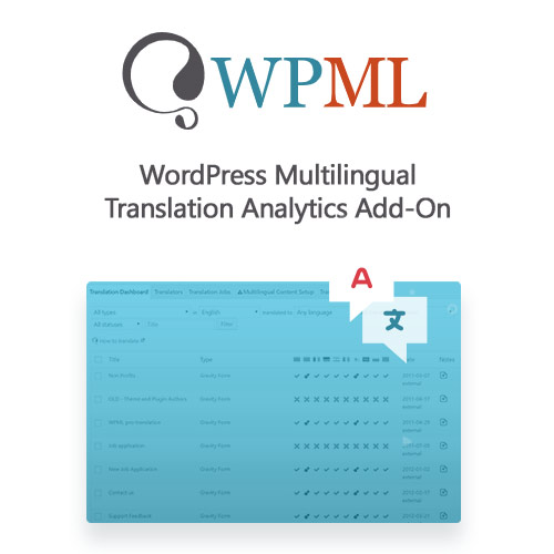 WordPress Multilingual Translation Analytics