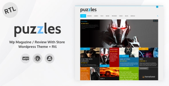Puzzle WordPress Theme
