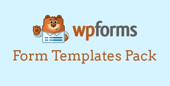 WPForms Form Templates Pack 1.2.1