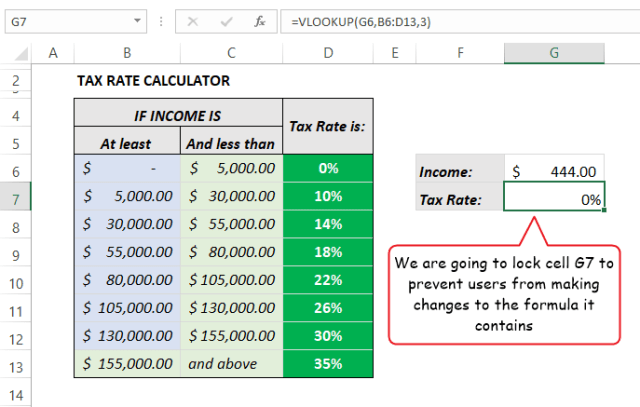 lock cells in Excel formula