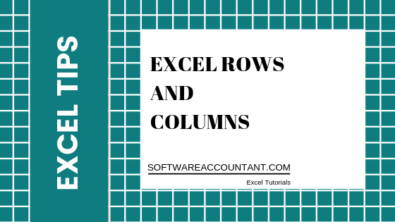 Excel rows and columns
