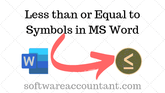 Symbol for less than or equal to