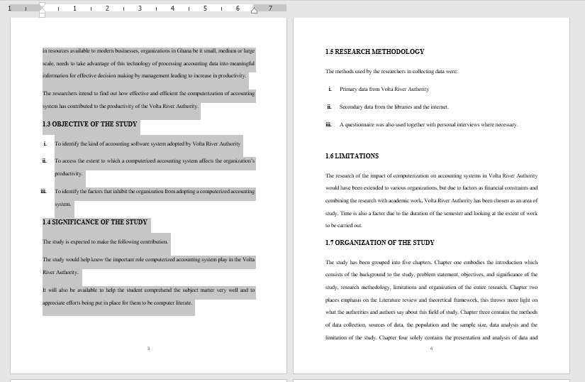 highlight the text in the page you want to copy