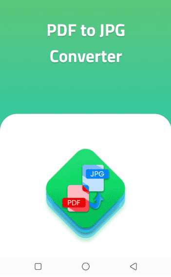 """""""PDF to JPG Converter – Image Convertor"""" app for android"""