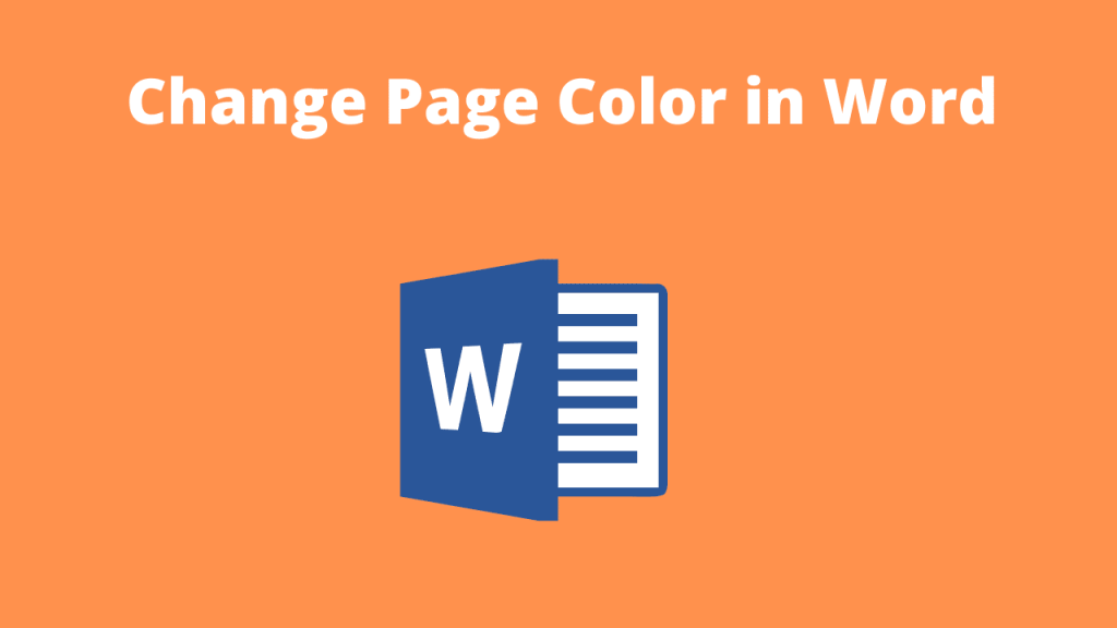 Page Color in Word