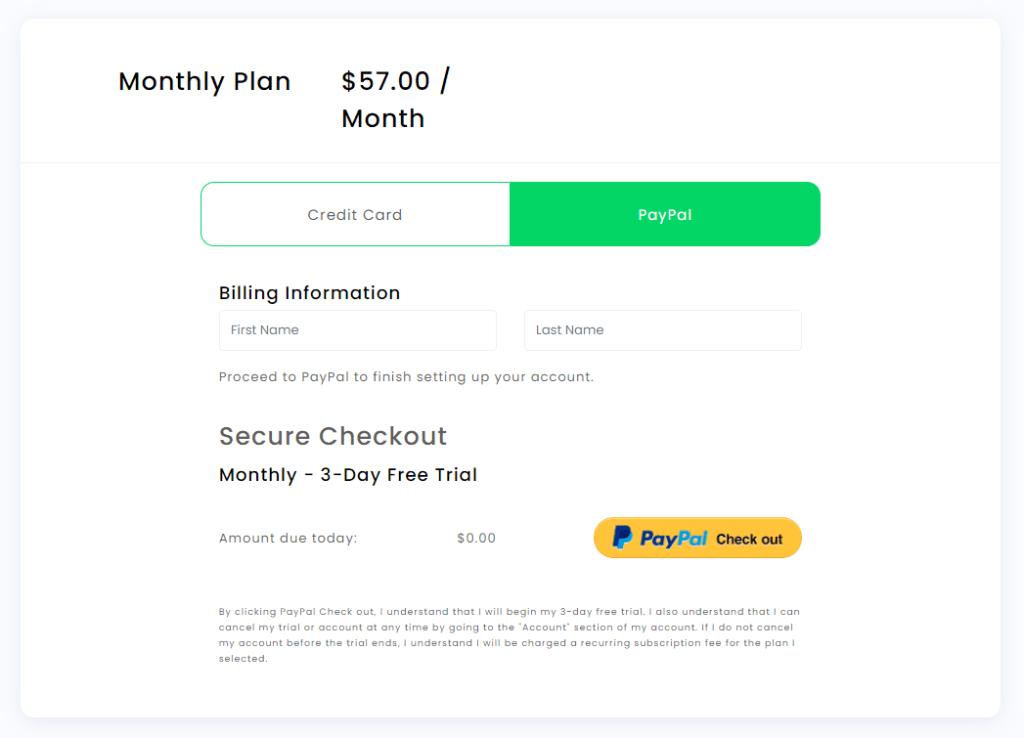 WordAi payment methods