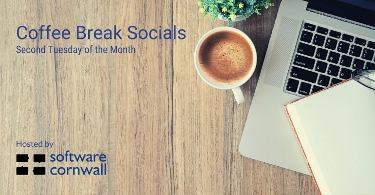 Coffee Break Social Event Card