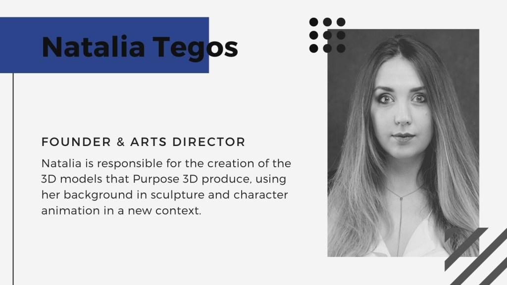 Natalia Tegos Purpose 3d