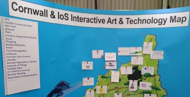 Cornwall Art and technology Interactive Map