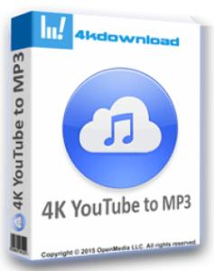 4K YouTube To MP3 3.13.0.3810 Crack + License Key Latest Version