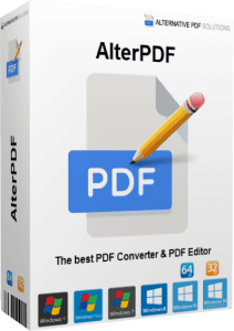 AlterPDF Pro 5.5 Crack With License Key[Latest 2021] Free Download