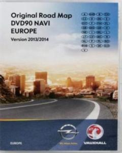 Opel.Original.Road.Map.CD70.NAVI.Major.Roads.of.Europa