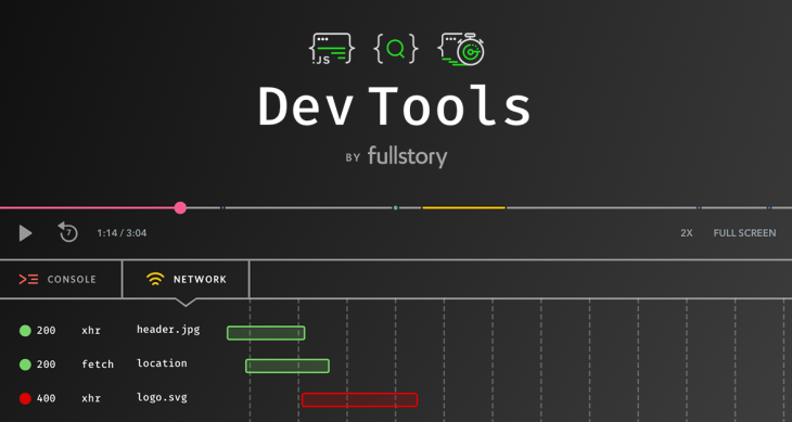 Website Performance Monitoring Using FullStory Dev Tools