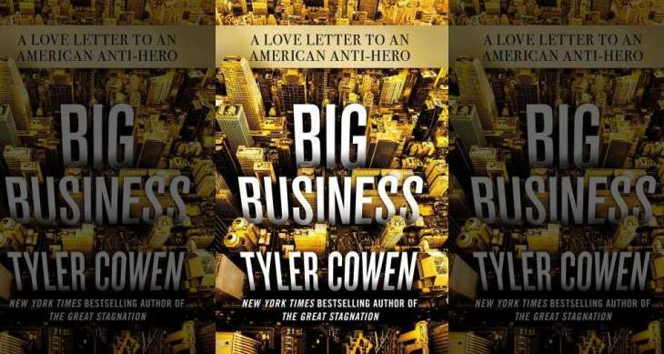 Big Business With Tyler Cowen Software Engineering Daily