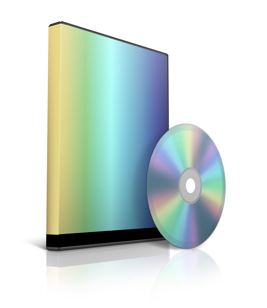 software, cd, dvd