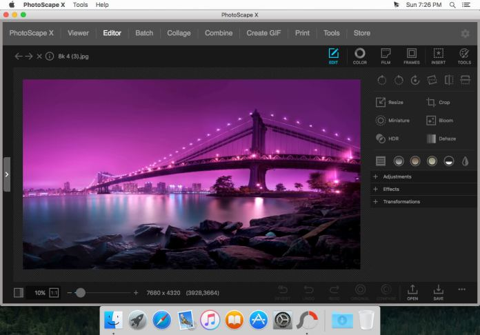 PhotoScape X Pro 4.1.1 For Mac