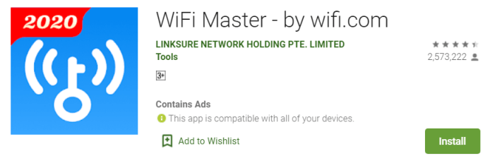 WiFi Master Key for PC