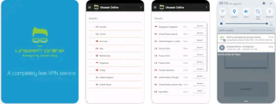 Download FREE VPN- Unseen Online For PC