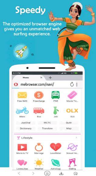 Download Me Browser For PC