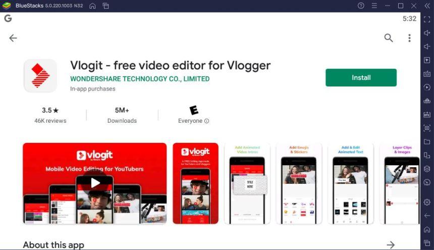 Download Vlogit For PC