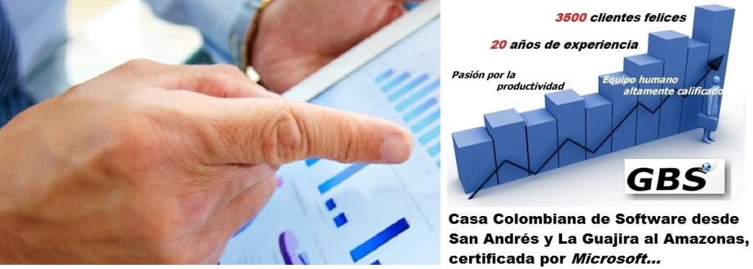 GBS, La Casa Colombiana de Software en la que usted ¡Sí, puede confiar!