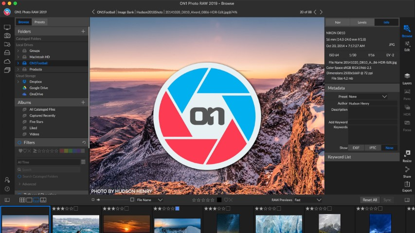 ON1 Photo RAW 2019.2 Free Download