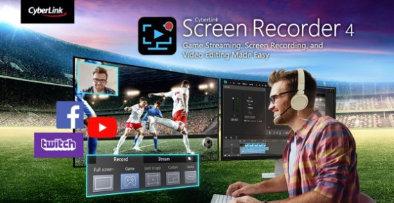 CyberLink Screen Recorder Deluxe 2019 Free Download