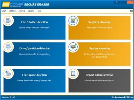 Secure Eraser Professional 5.211 With Crack Free Download