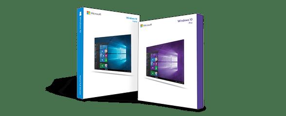 Microsoft Windows 10 Pakete
