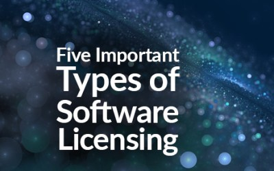 Five Important Types of Software Licensing